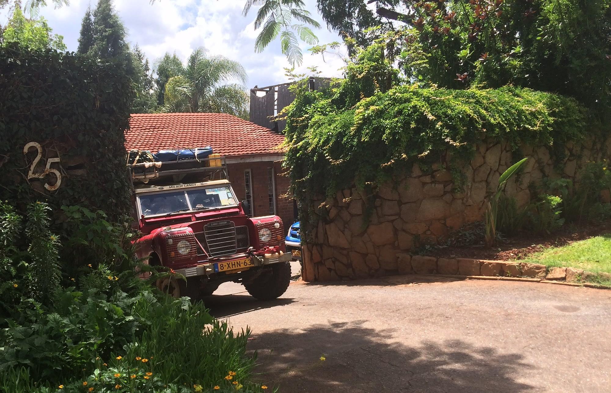 Milady Landy at It's a Small World Backpackers Lodge Harare, Zimbabwe