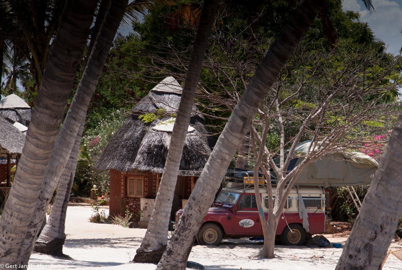 camping at Mahaba beach, Dar es Salam, Tanzania