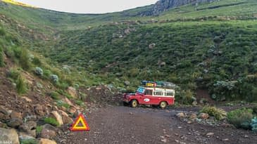"The ""shortest"" Route through Lesotho"