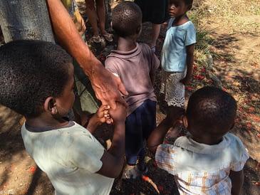 Camping at FloJa Foundation in Ngara, Malawi
