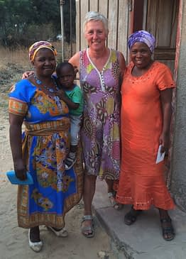 Visit to the project 'Agape Orphans Home-Based Care' in Zambezi
